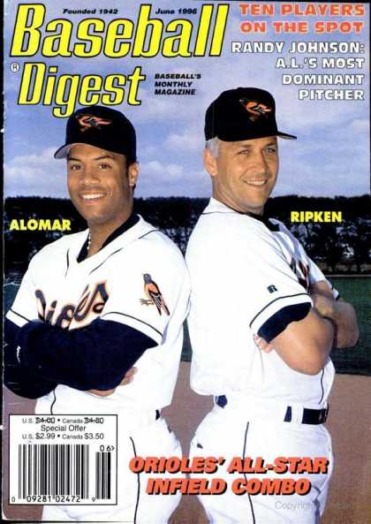 Baseball Digest - June 1996