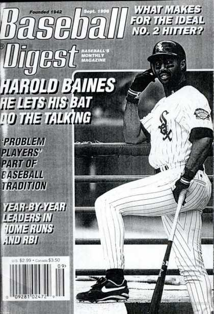 Baseball Digest - September 1996