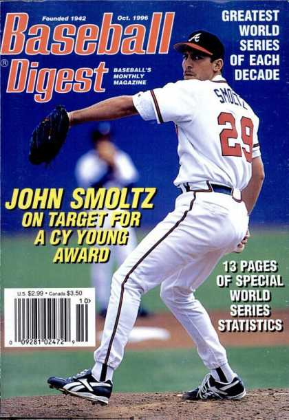 Baseball Digest - October 1996