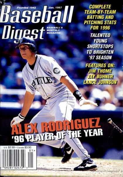 Baseball Digest - January 1997