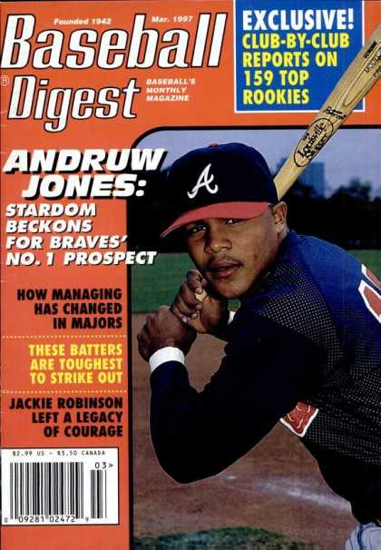Baseball Digest - March 1997