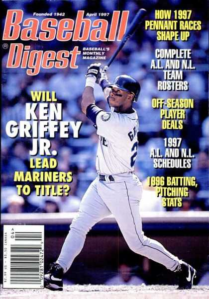 Baseball Digest - April 1997