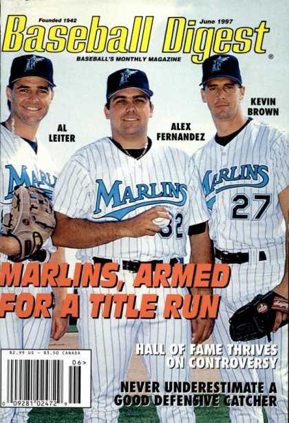 Baseball Digest - June 1997