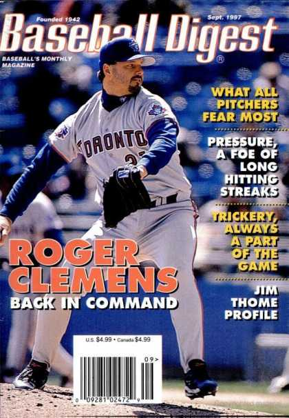 Baseball Digest - September 1997