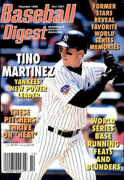 Baseball Digest - October 1997