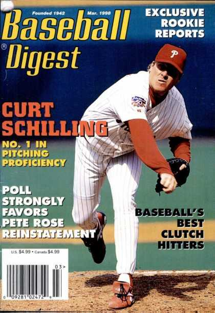 Baseball Digest - March 1998