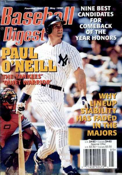Baseball Digest - May 1998