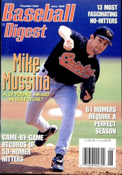 Baseball Digest - June 1998