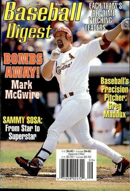 Baseball Digest - September 1998