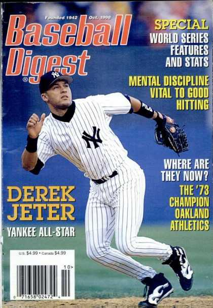 Baseball Digest - October 1998