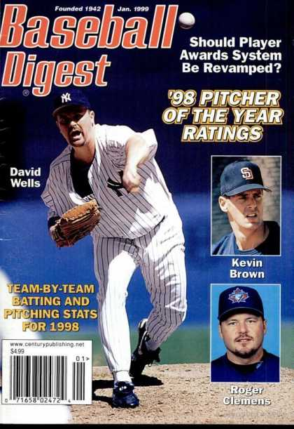 Baseball Digest - January 1999