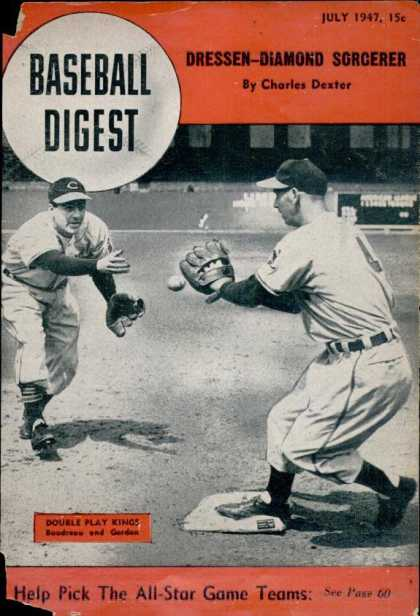 Baseball Digest - July 1947