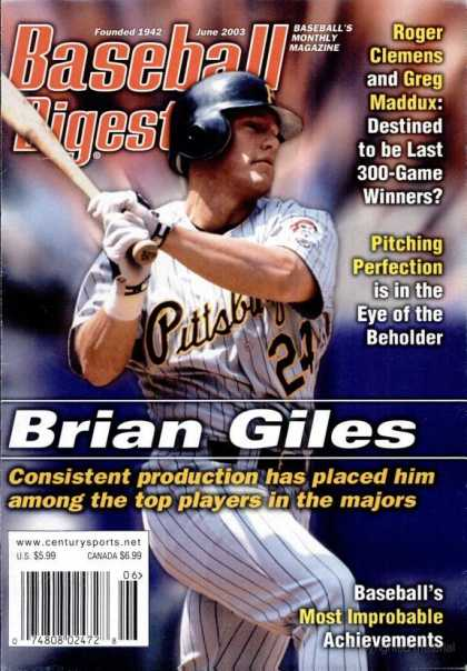 Baseball Digest - June 2003