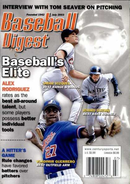 Baseball Digest - July 2003