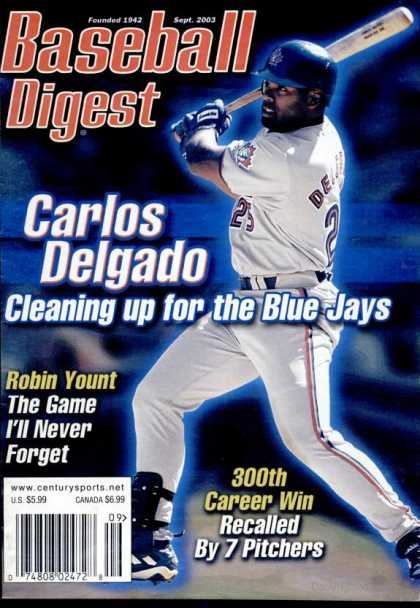 Baseball Digest - September 2003