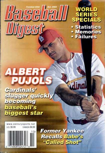 Baseball Digest - October 2003