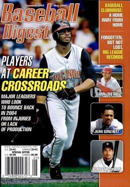 Baseball Digest - May 2004