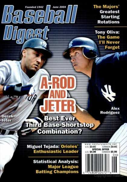 Baseball Digest - June 2004