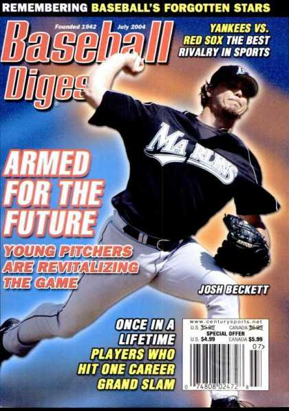 Baseball Digest - July 2004