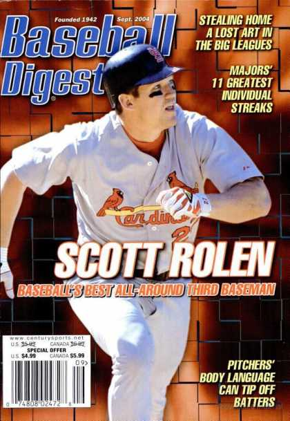 Baseball Digest - September 2004