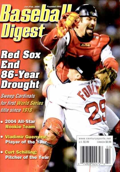 Baseball Digest - January 2005