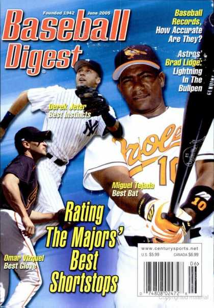 Baseball Digest - June 2005