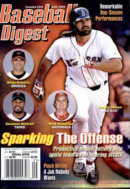 Baseball Digest - September 2005