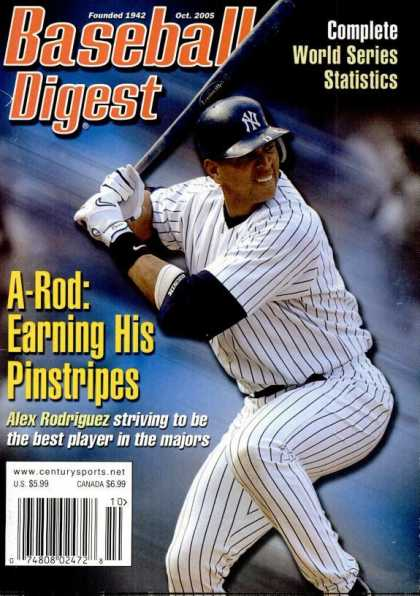 Baseball Digest - October 2005