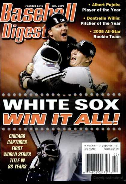 Baseball Digest - January 2006