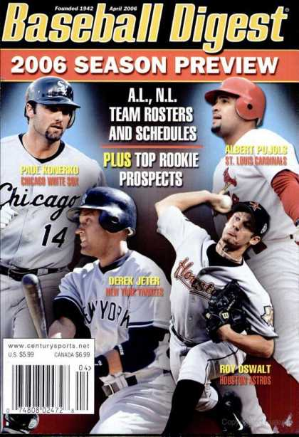 Baseball Digest - April 2006