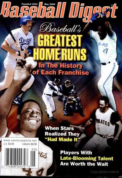 Baseball Digest - May 2006