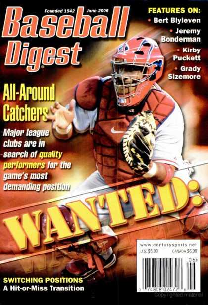 Baseball Digest - June 2006