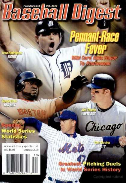 Baseball Digest - October 2006