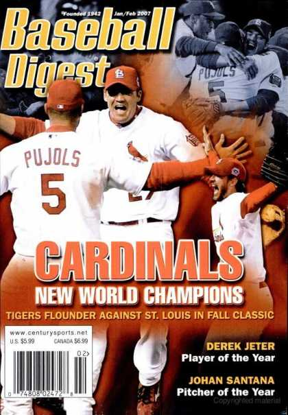 Baseball Digest - January 2007