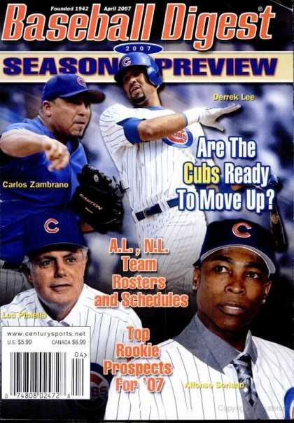 Baseball Digest - March 2007