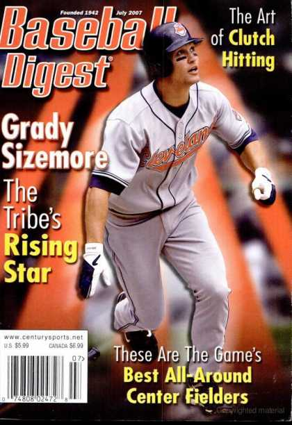 Baseball Digest - July 2007