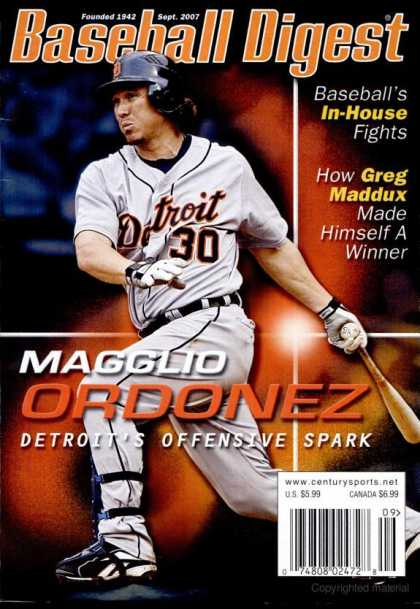 Baseball Digest - September 2007