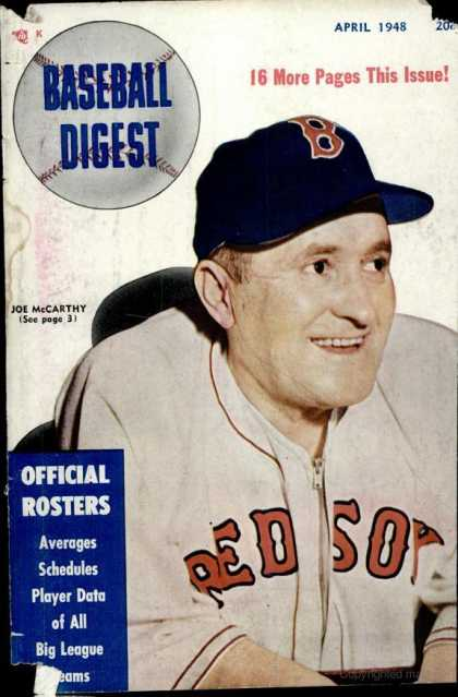 Baseball Digest - April 1948