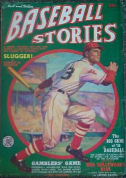 Baseball Stories - Summer 1938