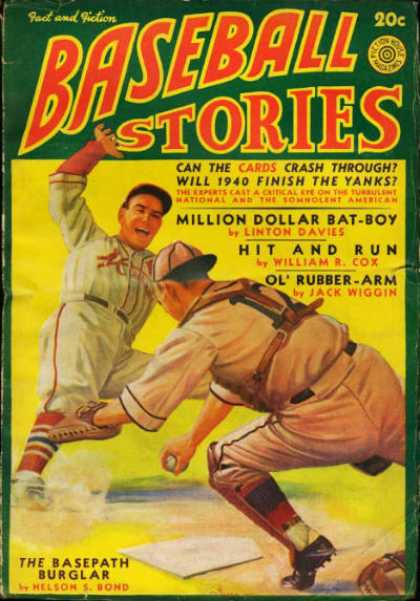 Baseball Stories - Summer 1940