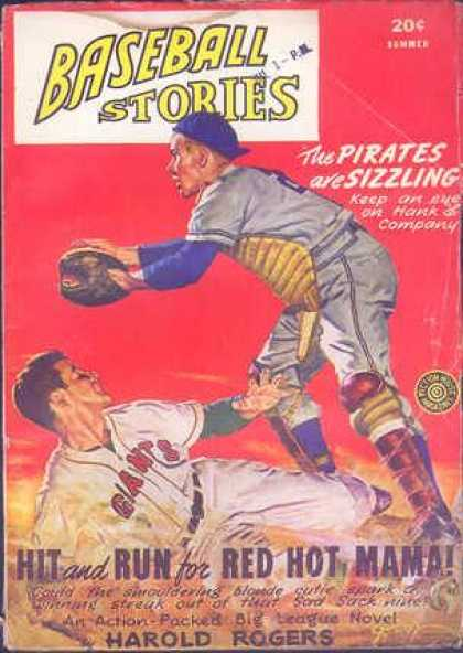 Baseball Stories - Summer 1947