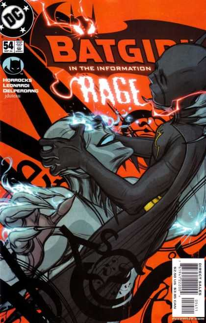 Batgirl 54 - Horrocks - Leonardi - Rage - Alien - Dc - James Jean