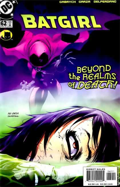 Batgirl 62 - Realms Of Death - Head - Hands - Cape - Mist