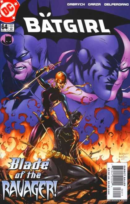 Batgirl 64 - Batman - Flames - Swords - Blade Of The Ravager - Females