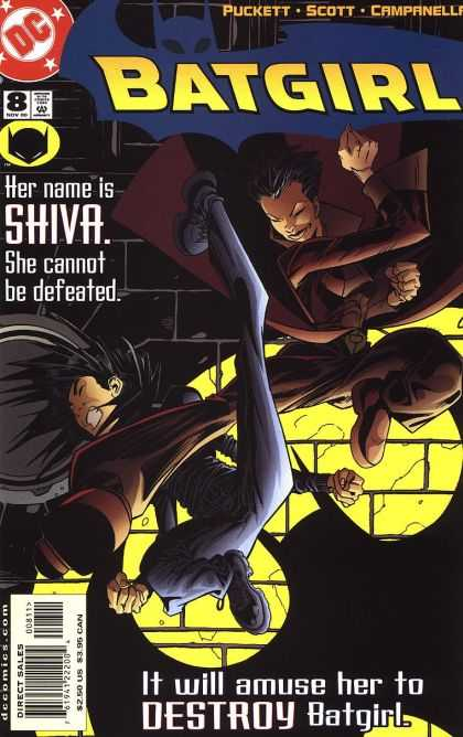 Batgirl 8 - Dc - Dc Comics - Bat-girl - Fight - Shiva
