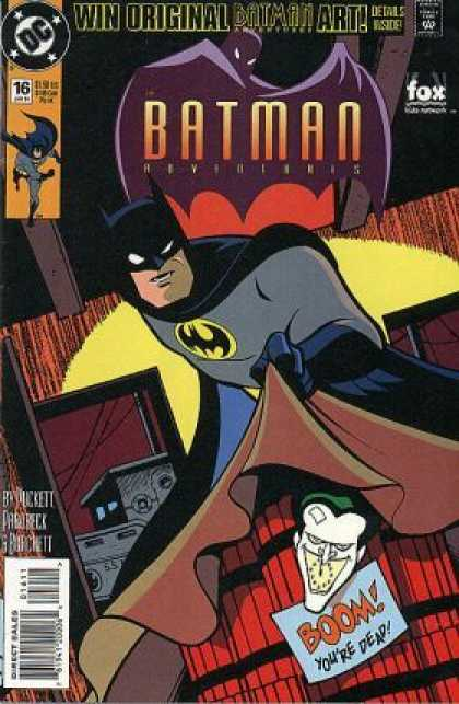 Batman Adventures 16 - Dc - Art - Batman - Bomb - Joker
