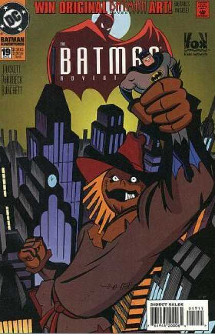 Batman Adventures 19 - Giant - Scarecrow - Capture - Tall Buildings - Clock