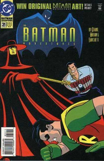 Batman Adventures 31 - Dynamite - Robin - Bomb - Timer - Red Cloak