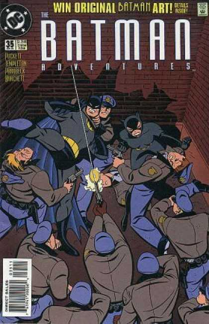 Batman Adventures 35 - Catwoman - Police