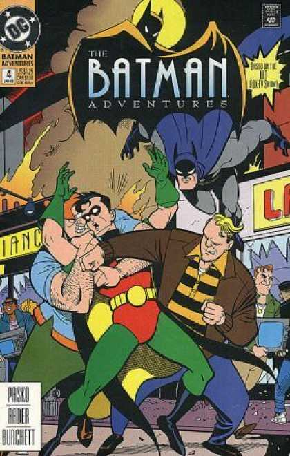 Batman Adventures 4 - Batman - Batman Comics - The Batman Adventures - Dc Comics - Comic Books - Bruce Timm, Ty Templeton